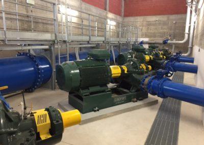 EM Service Impianto di pompaggio Caprari