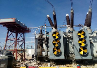 3 EM Service manutenzione trasformatore 400 MVA