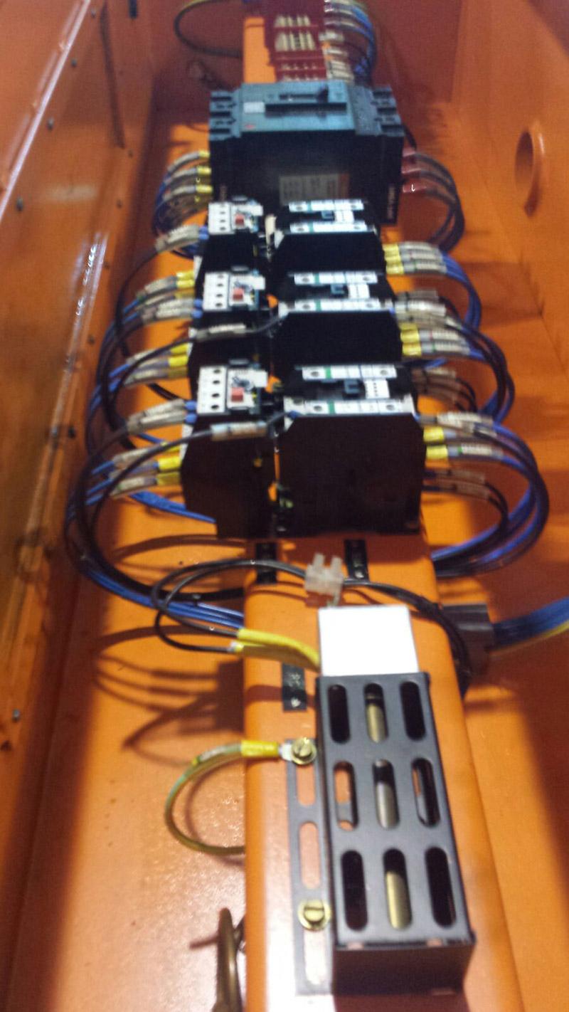 revisione circuito elettrico aerotermo