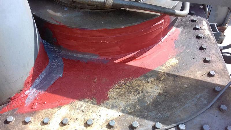 ripristino perdita olio su variatore sotto carico
