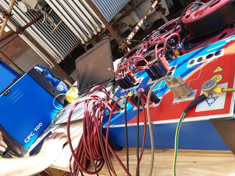 Misure Elettriche su Trasformatore