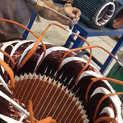 Saldatura Connessioni Avvolgimento 75 KW 400 V
